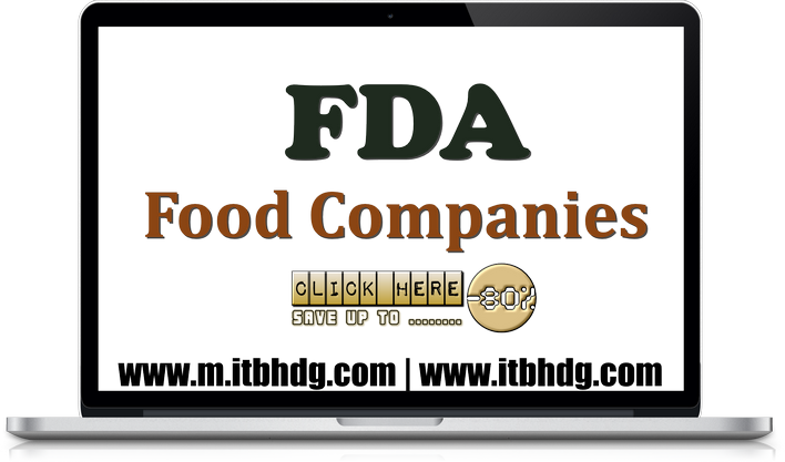 FDA Registration for Less | Foods, Canned Foods, Dietary Supplements | www.m.itbhdg.com | www.itbhdg.com