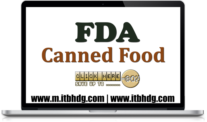 FDA Registration of your Canned Foods Company | www.m.itbhdg.com | www.itbhdg.com