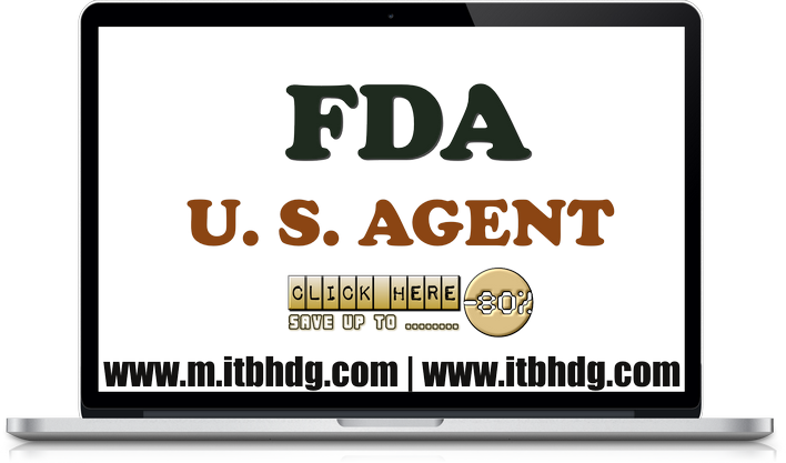 FDA Registration | ITB HOLDINGS LLC as your company's U.S. Agent | www.m.itbhdg.com | www.itbhdg.com