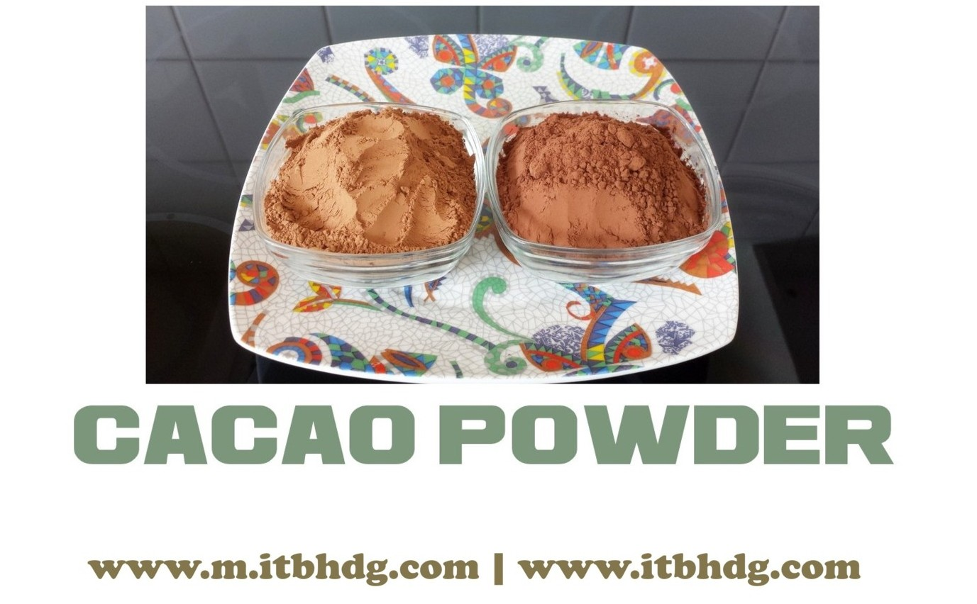 Cacao | Cocoa | Organic | Powder | Various countries around the world | Best CIF (Cost, Insurance, Freight) prices | www.m.itbhdg.com | www.itbhdg.com