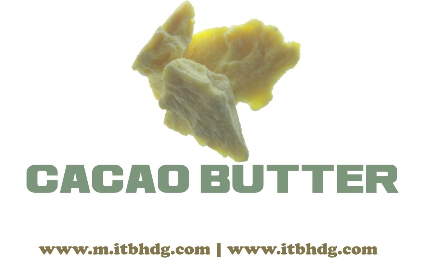 Organic Cacao Butter | Natural or Deodorized | Best CIF (Cost, Insurance, Freight) prices | www.m.itbhdg.com | www.itbhdg.com